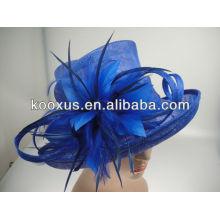 Пользовательские шляпы соломенной шляпе sinamay hat