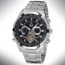 Stainless Steel Chain/Band Watches Men Luxury