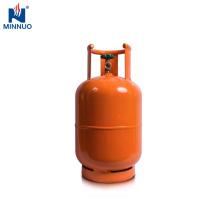 Filipinas esvaziam o cilindro de gás do lpg 11kg, tanque de propano, garrafa de gás para o agregado familiar
