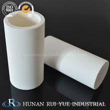 Aluminio óxido cerámico tubo 99% Al2O3 para aplicaciones de alta refractariedad
