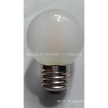 3.5W G50 COB Frosted LED Filamento Bulbo