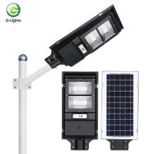 Luz de rua solar led smd economizadora de energia