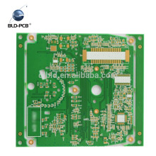 12 layer fr4 pcb gold flash through holes double sided 1mm thick round diameter 16.5mm pcb 2 layer