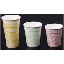Tasse ondulée de café, double tasse de Paperadvertising, tasse de thé de lait