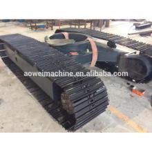 Vente chaude! Système de chenille de châssis de train de roulement à chenilles en acier de 0,5 tonne à 120 tonnes pour la ferme de camion à benne basculante