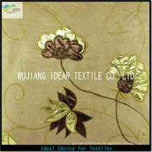 105 * 300 D bordar deformación Micro gamuza tela para tapicería
