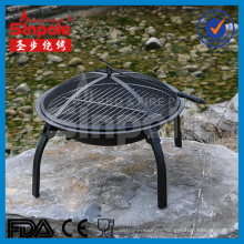 22inch Portable Fire Pit with BBQ Grill (SP-FT001)