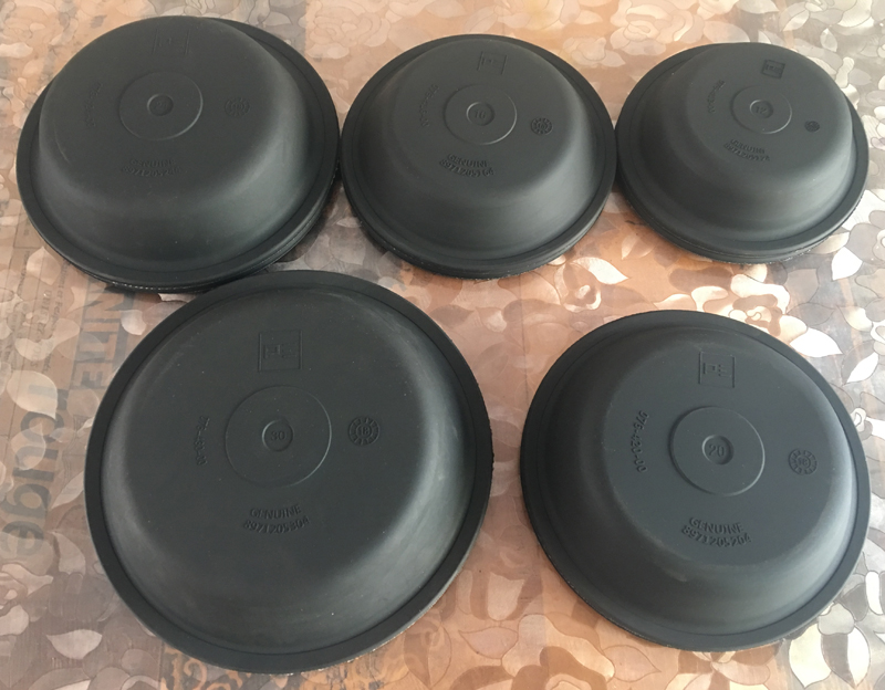 Custom Auto T12 Rubber Diaphragms