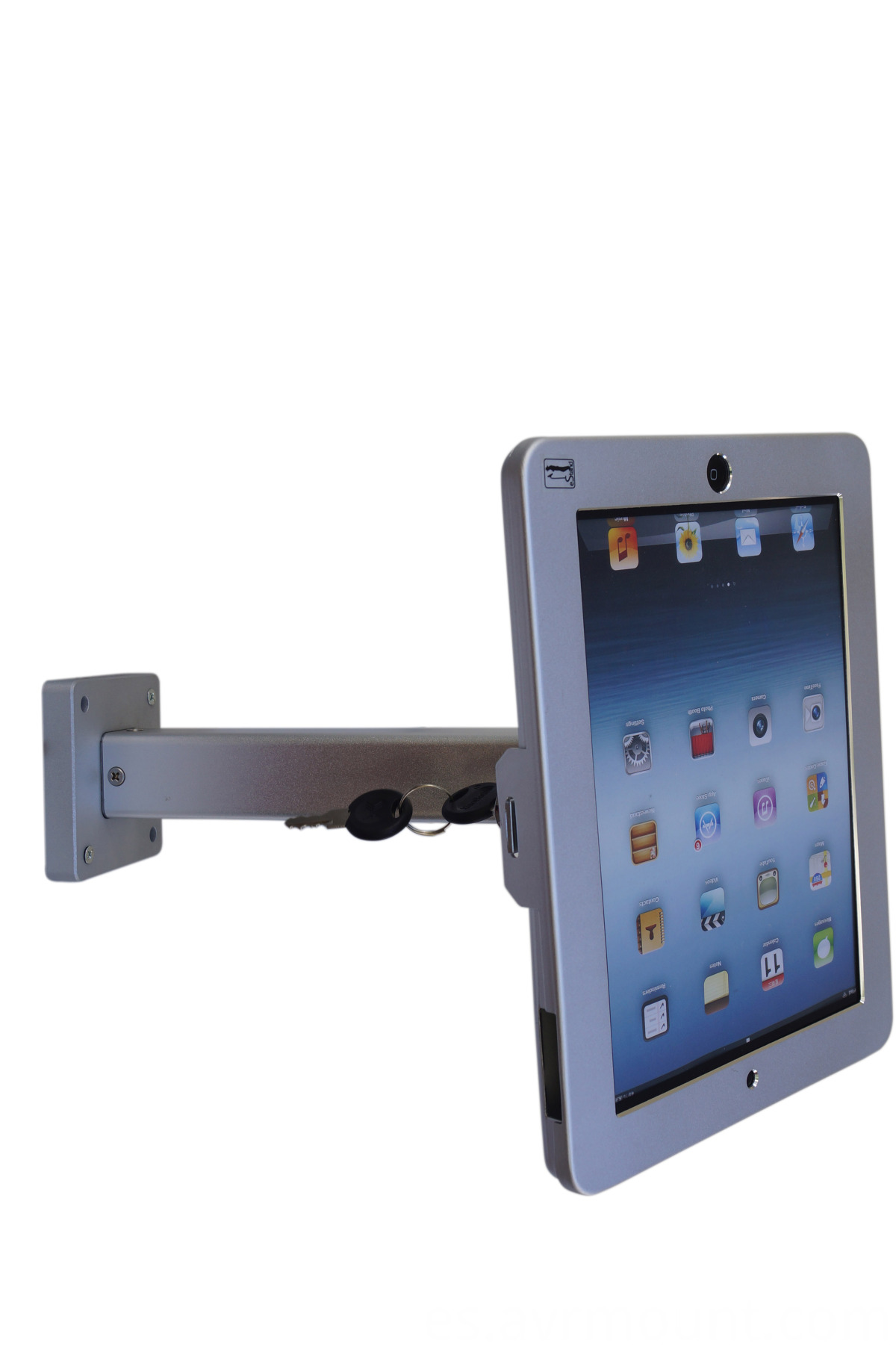 IPAD wall mount anti-theft