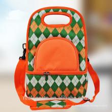 Grande atacado cesta de piquenique mochila tecido cesta de piquenique