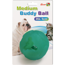 Percell Medium Buddy Ball Juguete dispensador de golosinas duraderas
