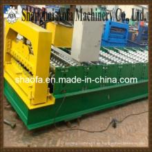 Hoja de techo de acero corrugado de color que forma la máquina (AF-R836)