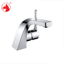 Modern hot sale polished plated brass deck basin faucet