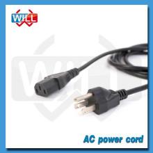 UL CUL approval 3 pin 250v north america ac power cord
