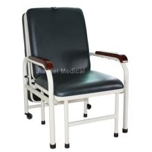 Cama de acompanhante e cadeira de aço inoxidável para famílias