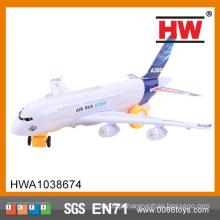(Com luzes e som Landing) plástico de alta qualidade crianças brinquedos avião elétrico
