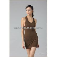 Robe sans couture de conception de mode 2014, nouvelle robe féminine à rayures de style