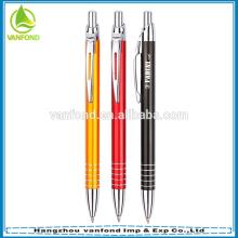 Best Selling Aluminium Custom Logo Promotional Metal Ball Pen