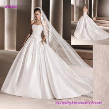 Heißer Verkauf Ballkleid Weiß Liebsten Brautkleid