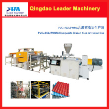 PVC+PMMA/Asa Roofing Sheet Making Machine