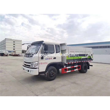 SFC 4x2 Docking dump truck sanitasi