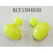 Lovely Yellow Candy Earrings Fashion Jewelry