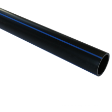 Large diameter high quality black plastic water supply hdpe pipe