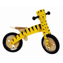 """Woody 12"""" Bike Tiger/Wooden Educational Toys/Balance Bicycle"""