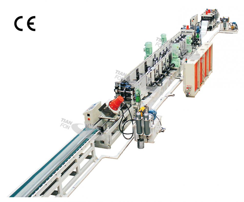 Metal Steel Purlin Roll Forming Machine