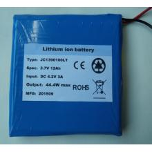 3.7V rapid charge polymer battery pack
