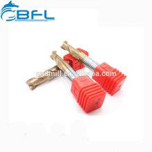 CNC BFL Sólido Súper Duro Herramienta de carburo de tungsteno Herramientas redondas de fresado de fresas redondas estándar. Todo tipo de herramientas de radio de esquina