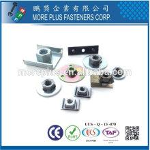 Taiwán Acero inoxidable 18-8 Acero cromado Acero Cobre Clavos de soldadura de latón Tipo U Sujetadores de ranura Sujetadores de soldadura