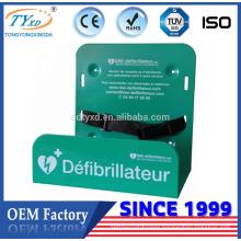 90 degree metal wall mount AED bracket
