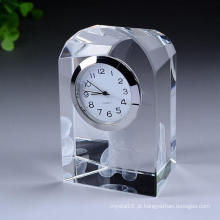 Exquisite Glass Clock Handcraft Relógio de Globo de Cristal