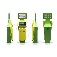 22 Inch Double Sides Smart Bill Payment Kiosk for Ticketing / Card Printing