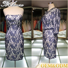 High quality elegant women mother of bride dress suits prom gown