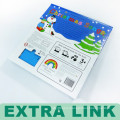 Необычные Высокого Класса Пользовательских Дизайн Жесткий Обложка Картон, Клеевое Скрепление Детская Музыкальная Книжка