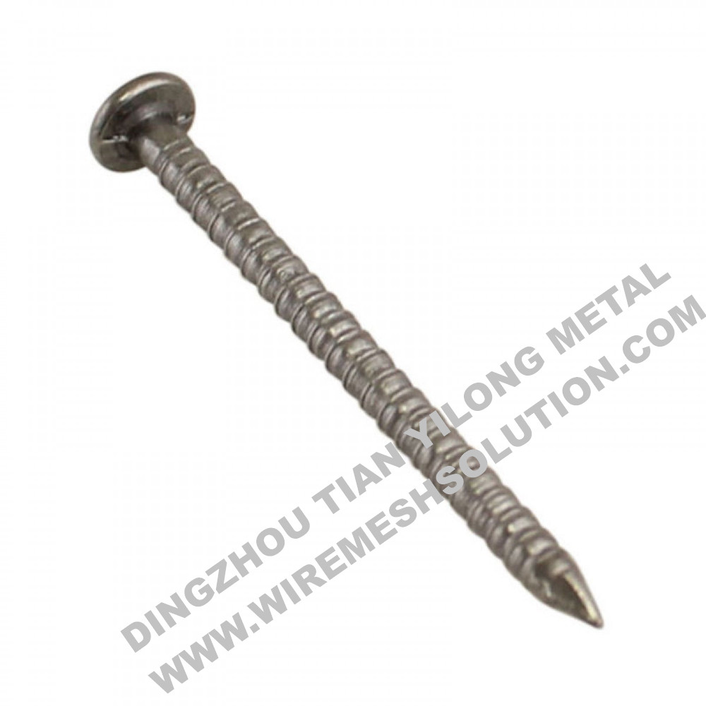 Grooved Shank Concrete Steel Nail