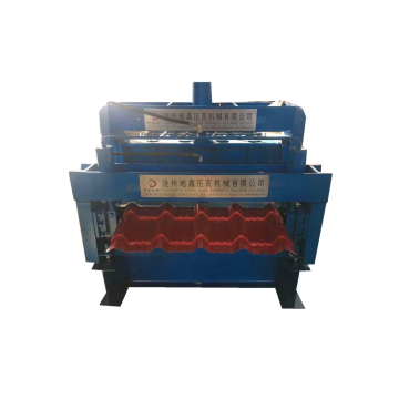 double deck glazed roll forming machine