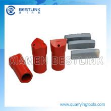 Bits de formão afilado 34mm para granito de broca