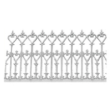 China aluminum foundry supply aluminum sand casting garden fence post