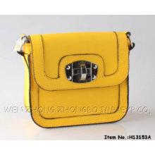 Nuevo bolso de tarde de la señora cuero 2015