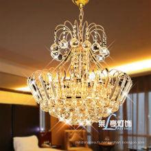 Petit lustre en cristal antique or unique fabriqué en Chine LT-70033