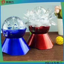 Novo estilo Bluetooth Speaker com luz LED