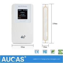 3g vpn wcdma cdma 3g wifi routeur sans fil support slot carte SIM