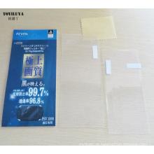 Frente e verso Filmes protetores de LCD Sensitive Touch Anti-Scratch protetor de tela para Sony para PS Vita PSV1000