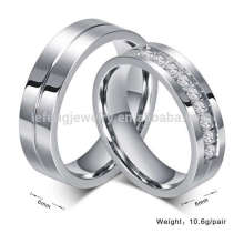 Titanium his and hers wedding rings,designer silver diamond engagement rings jewelry