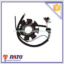 Venda quente OEM bobina de estator de magneto de motocicleta para peças sobressalentes de motocicleta YBR atacado
