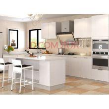 Personalizado anti arranhão branco madeira cozinha armário (muitas cores)
