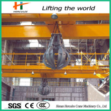 Bridge Crane with Handling Grab Overhead Crane